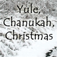 Christmas gifts, chanukah gelt, yule logs
