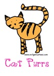 Cat purrs