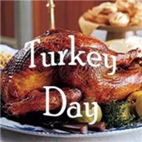 Happy thanksgiving, let's eat turkey!