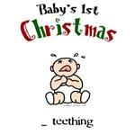 First christmas teething