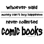 Money and happiness, comics