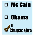 Copy of McCain, Obama, Chupacabra