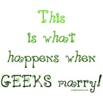 What happens when geeks marry