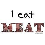 I eat meat