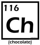 Elemental chocolate periodic table