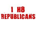 I HATE BUSH SHIRT I HATE REPUBLICANS SHIRT I HATE