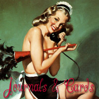 Elvgren and Pinup Journals and Cards