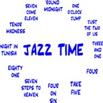 Jazz Time Blue