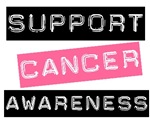 Support Cancer Awareness T-Shirts & Gifts (Pink)