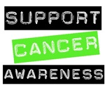 Support Cancer Awareness T-Shirts & Gifts (Lime)