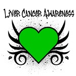 Liver Cancer Awareness Tattoo Shirts & Gifts