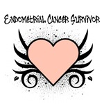 Endometrial Cancer Survivor Tattoo Shirts &amp; Gifts