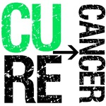 Cure (Liver) Cancer Grunge Gear, Shirts & Gifts