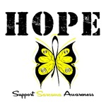 Hope Butterfly Sarcoma Shirts & Gifts
