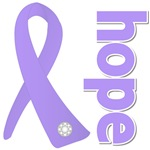 General Cancer Hope Ribbon Shirts and Gifts