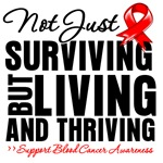 Blood Cancer Thriving Survivor Shirts