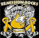 Remission Rocks Appendix Cancer Shirts