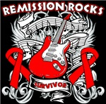 Remission Rocks Blood Cancer Shirts
