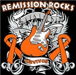 Remission Rocks Leukemia Shirts