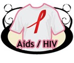 AIDS & HIV Support T-Shirts & Apparel