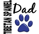 Tibetan Spaniel Dad Shirts, Gifts, and Merchandise
