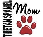 Tibetan Spaniel Mom Shirts, Gifts, and Merchandise