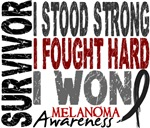 Survivor 4 Melanoma Shirts and Gifts