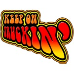 Keep on Truckin' 70's retro t-shirts and gifts