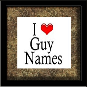 I Heart Guy Names