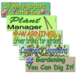 Bumper Stickers For Gardeners