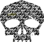 Distressed Chasm Skull