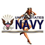 USN Navy Pin Up Babe