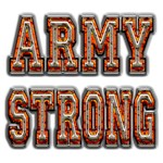US Army Camo Army Strong