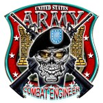 US Army Combat Engineer Shield