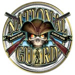 Army National Guard Skull Ready