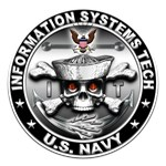 USN Information Systems Technician Skull IT
