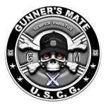 USCG Gunners Mate Skull GM