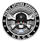 USCG Public Affairs Specialist Skull PA