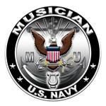 USN Musician Eagle MU