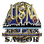 US Navy Tin Can Sailor USN