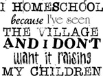 I Homeschool Because