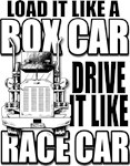 Box Car Truck Driver