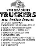 10 Reasons Truckers are Better Lovers