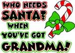 Santa? Grandma!