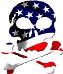 4th of July Skull