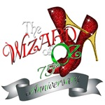 75th Anniversary Wizard of Oz Ruby Slippers