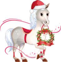 Christmas Horse Peace on Earth