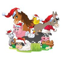 Farm Animal Christmas