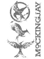 Three Mockingjays Distressed