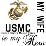USMC My Wife MY Hero